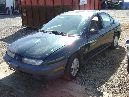 1996 saturn sl1 model 4 door sedan 1.9l sohc at fwd color green