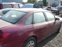 2004 SATURN SL2 MODEL 4 DOOR SEDAN COLOR BURGAUDY STK 099748