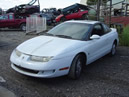 1998 SATURN Sc2, MANUAL TRANS, COLOR: WHITE, STK:099744
