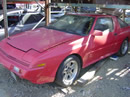 1987 MITSUBISHI CONQUEST , MANUAL, COLOR RED , SUPER CLEAN, STK# 093465