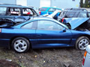 1994 MITSUBISHI STEALTH RT TWIN TURBO, 6 SPEED TRANSMISSION, COLOR BLUE STK # 103478