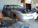 2002 SATURN SL2, AUTOMATIC TRANSMISSION, TWIN CAM, STK # 109766