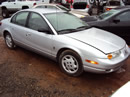 2002 SATURN SL2 4CYL, AUTOMATIC TRANSMISSION , COLOR - SILVER