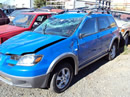 2003 MITSUBISHI OUTLANDER COLOR-BLUE STK#103510