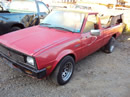 1986 MITSUBISHI PICK UP COLOR RED STK#103515