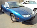 2002 SATURN SC2 COLOR BLUE, STK # 109787