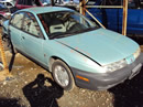 1997 SATURN SL1 COLOR LT BLUE, STK # 119792