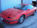 1991 MITSUBISHI STEALTH ES COLOR-RED STK# 113551