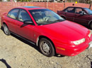 1999 SATURN SL2, COLOR-RED STK# 119796