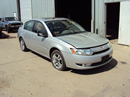 2004 SATURN ION 4 DOOR SEDAN,2.2L MT FWD COLOR SILVER , STK # 119799