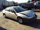 1999 SATURN SL1 4DOOR ,1.9L ENGINE SOHC, AUTOMATIC TRANSMISSION,COLOR GOLD, STK#119800