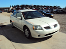 2004 MITSUBISHI GALANT 2.4L ENGINE, AUTOMATIC TRANSMISSION, COLOR WHITE, STK# 113561