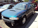 1999 SUBARU LEGACY COLOR GREEN STK # U11002