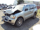 2002 MITSUBISHI MONTERO FULL SIZE 3.5L AT 4X4 COLOR GOLD STK # 113574
