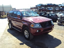 2000 MITSUBISHI MONTERO SPORT LIMITED 3.5L AT 2WD COLOR BURGUNDY STK # 113576