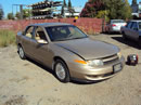 2001 SATURN L300 4 DOOR SEDAN 3.0L AT COLOR GOLD STK # 119818
