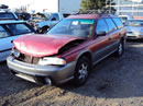 1996 SUBARU LEGACY OUTBACK MODEL 2.5L AT AWD COLOR RED STK # U11011