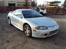 1998 MITSUBISHI ECLIPSE GS MODEL COUPE,2.0L DOHC MT FWD COLOR SILVER STK 113585