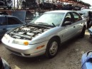 2002 SATURN SL, 1.9L 5SPD, COLOR SILVER, STK 159896