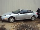 2001 SATURN SC2, 1.9L 5SPEED 3DR, COLOR SILVER, STK 159897