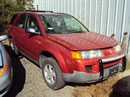2003 SATURN VUE SUV 2.2L MANUAL TRANSMISSION FWD COLOR ORANGE STK 129827