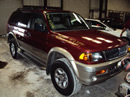 1999 MITSUBISHI MONTERO SPORT LIMITED 3.5L AT 2WD COLOR MAROON STK 123591