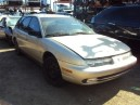 1999 SATURN SW, 1.9L AUTO, COLOR GOLD, STK 159899