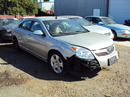 2008 SATURN AURA XE MODEL 4 DOOR SEDAN 3.5L AT FWD COLOR SILVER STK 129832