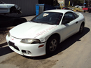 1998 MITSUBISHI ECLIPSE RS MODEL COUPE 2.0L NON TURBO AT FWD COLOR WHITE STK 123605