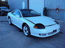 1991 DODGE STEALTH RT TURBO MODEL 3.0L DOHC TURBO MT AWD COLOR WHITE STK 123607.