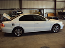 1999 MITSUBISHI GALANT 4 DOOR SEDAN GTZ MODEL 3.0L V6 AT FWD COLOR WHITE STK 123608