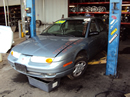 2002 SATURN SL2 MODEL 4 DOOR SEDAN 1.9L DOHC MT FWD COLOR BLUE STK 139846