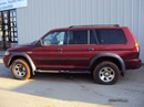 2002 MONTERO SPORT LS MODEL 3.0L V6 AT 4X4 COLOR RED STK 133615