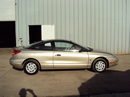 1999 SATURN CPE 3 DOOR SC1 MODEL 1.9L SOHC MT FWD COLOR GOLD STK 139849