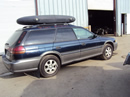 1998 SUBARU LEGACY OUTBACK MODEL STATION WAGON 2.5L AT AWD COLOR BLUE STK U13023