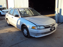 1998 MITSUBISHI MIRAGE 4 DOOR SEDAN DE MODEL 1.5L AT FWD COLOR SILVER STK 133617