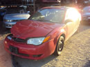 2005 SATURN ION CPE, 2.2L AUTO FWD,COLOR RED, STK 149888