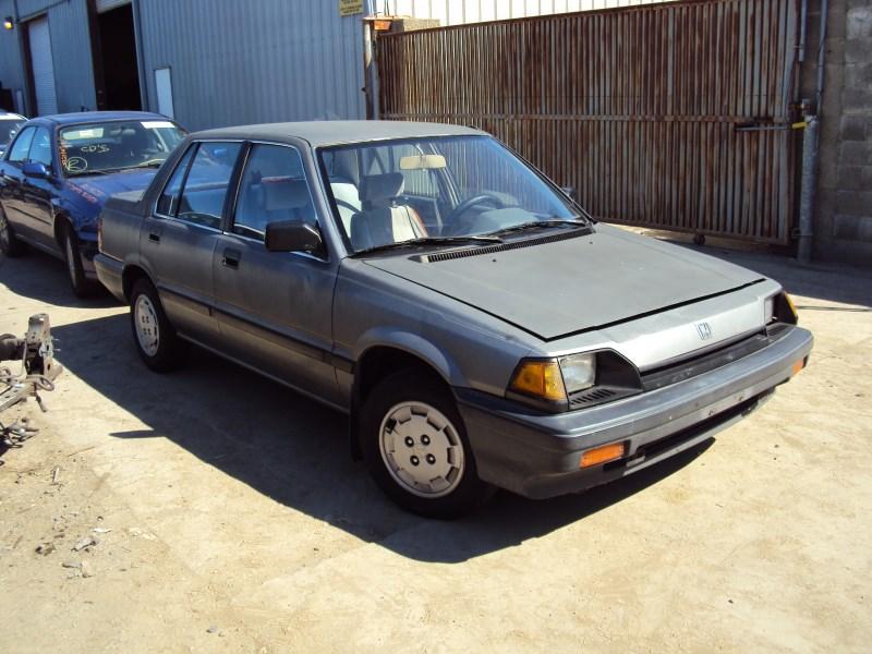 1985 honda civic 4 door sedan 1 5l at fwd color gray for Honda civic 1985