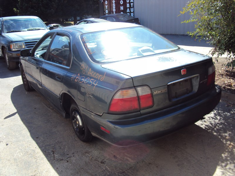 1996 Honda Accord 4 Door Sedan Ex Mdl 22l At Fwd Color Green A13054