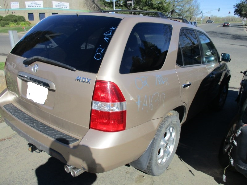 ACURA MDX GOLD L AT WD A RANCHO HondaAcura RECYCLING - 2002 acura mdx tires
