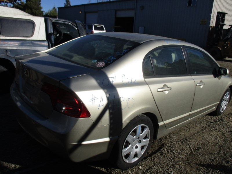 2007 honda civic lx gold 4dr 1 8l vtec at a16450 rancho honda acura recycling. Black Bedroom Furniture Sets. Home Design Ideas
