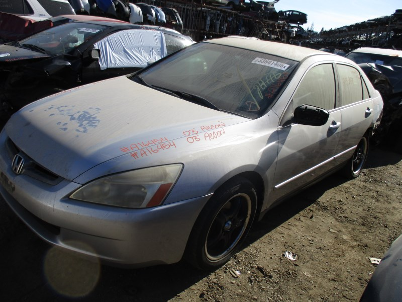 2003 honda accord lx silver 4dr 2 4l vtec at a16454 rancho honda acura recycling. Black Bedroom Furniture Sets. Home Design Ideas