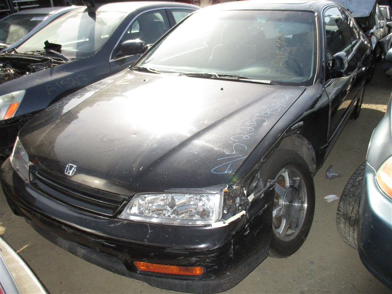 1995 HONDA ACCORD EX, 2.2L AUTO, COLOR BLACK, ...