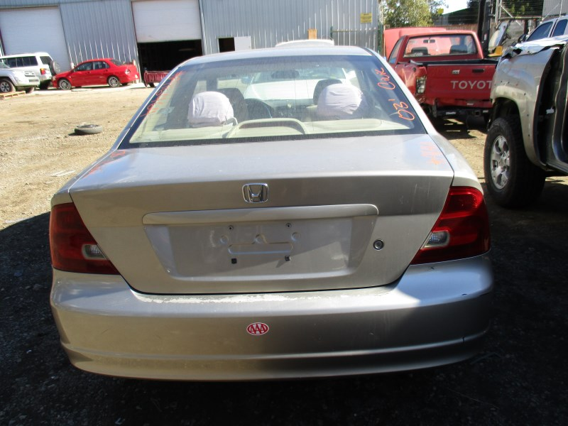 2003 honda civic lx gold 2dr 1 7l at a16464 rancho honda acura recycling. Black Bedroom Furniture Sets. Home Design Ideas