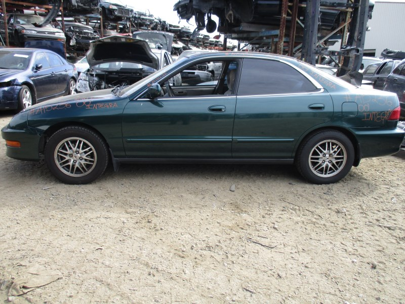 2000 ACURA INTEGRA LS MODEL GREEN 4 DOOR SEDAN 1.8L AT A15236 ...