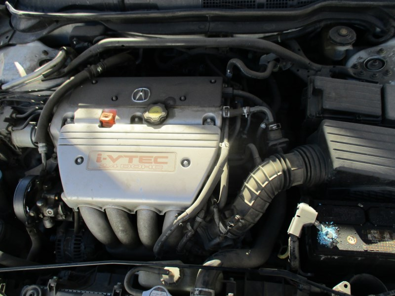 ACURA TSX PEARL WHITE L AT A RANCHO HondaAcura RECYCLING - 2004 acura tsx engine