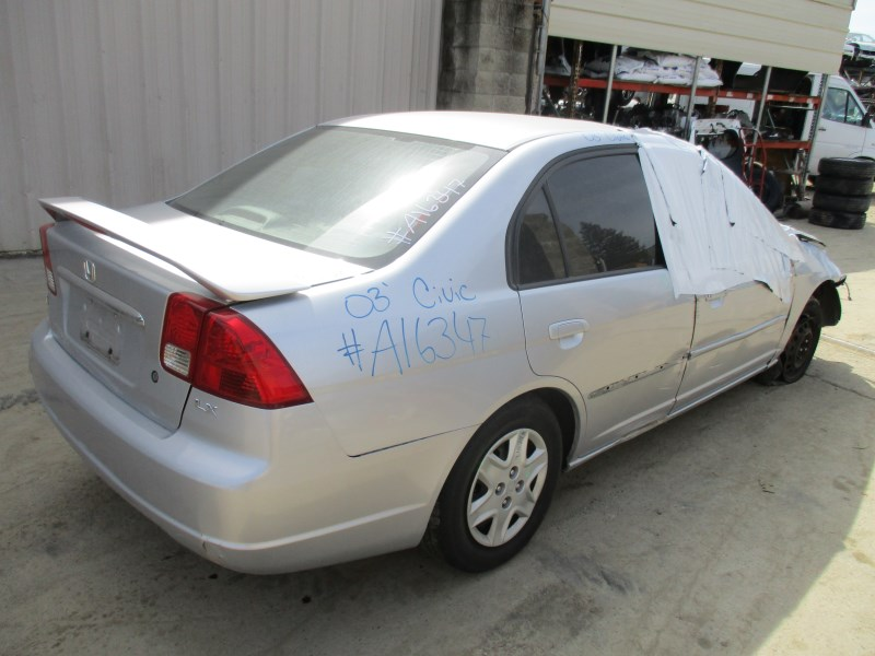 2003 honda civic lx 4dr silver 1 7l at a16347 rancho honda acura recycling. Black Bedroom Furniture Sets. Home Design Ideas