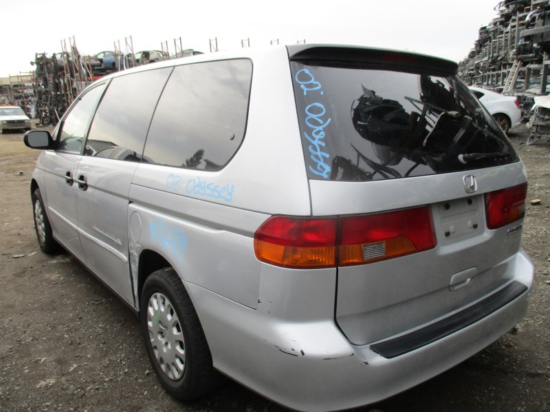 2002 honda odyssey lx silver 3 5l at a16489 rancho honda acura recycling. Black Bedroom Furniture Sets. Home Design Ideas
