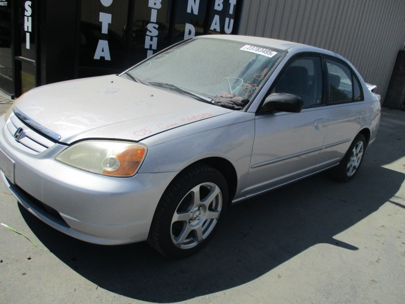 2003 honda civic lx silver 1 7l mt 4dr a15252 rancho honda acura recycling. Black Bedroom Furniture Sets. Home Design Ideas