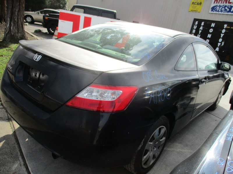2008 honda civic lx 2dr black 1 8l vtec at a17520 rancho honda acura recycling. Black Bedroom Furniture Sets. Home Design Ideas
